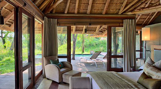 Private Suite bedroom Leadwood Lodge Sabi Sand Dulini Private Game Reserve Safari Game Lodge Accommodation Bookings