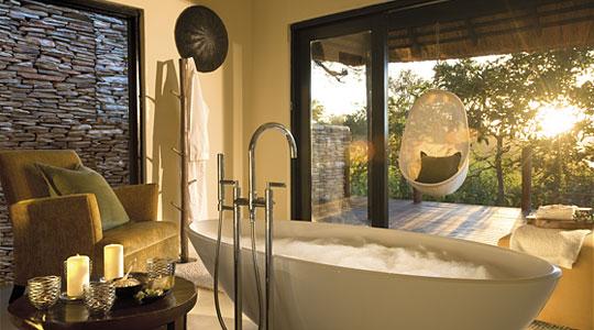 South African Luxury Suites bathroom Five Safari Sabi Sand Lion Sands River Lodge Private Game Reserve Sabi Sand Game Reserve