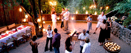 Boma Dining Founders Camp Londolozi Private Game Reserve Sabi Sand Private Game Reserve Accommodation Booking