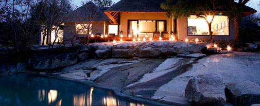 Luxury suites at Private Granite Suites, Londolozi Private Game Reserve, Sabi Sand Private Game Reserve, South Africa