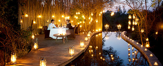 Private Candlelight Dinner at Pioneer Camp, Londolozi Private Game Reserve, Sabi Sand Private Game Reserve