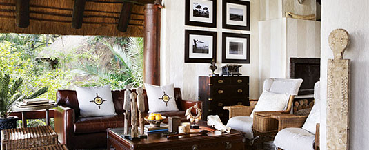 Main Lodge Lounge at Varty Camp, Londolozi Private Game Reserve, Sabi Sand Private Game Reserve