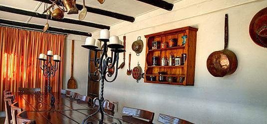 Sabi Sabi Selati Camp Farmers Kitchen dining room Luxury Accommodation Sabi Sabi Private Sabi Sands Reserve Lodge bookings