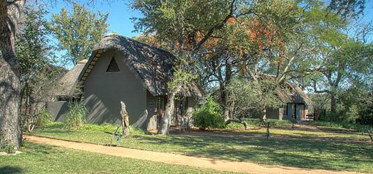 Outside view of the Suites at Selati Camp, Sabi Sabi located in Sabi Sand Private Game Reserve