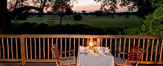 Private Dinner,Deck,Sabi Sabi Selati Camp,Luxury Accommodation,Sabi Sabi Private Game Reserve,Sabi Sands Reserve,Accommodation bookings