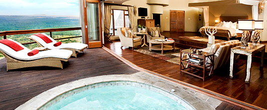 Ulusaba Cliff Lodge Luxury Suite Deck Plunge Pool Ulusaba Private Game Reserve Sabi Sand Private Game Reserve