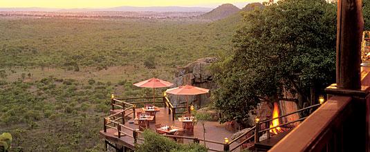 Ulusaba Rock Lodge Main Deck Rock Lodge Ulusaba Private Game Reserve Sabi Sand Private Game Reserve