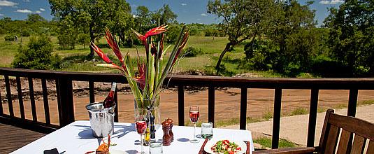 Ulusaba Safari Lodge,Lunch,Deck,Safari Lodge,Ulusaba Private Game Reserve,Sabi Sand Private Game Reserve