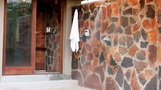 outdoor shower Luxury Rooms Arathusa Safari Lodge Sabi Sands Game Reserve Safari Lodge Accommodation booking