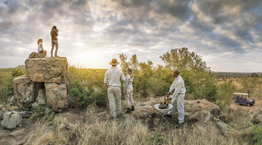 Game Drives Sundowners Sabi Sand Game Reserve Dulini Safari Lodge Luxury Safari Lodge Bookings South Africa