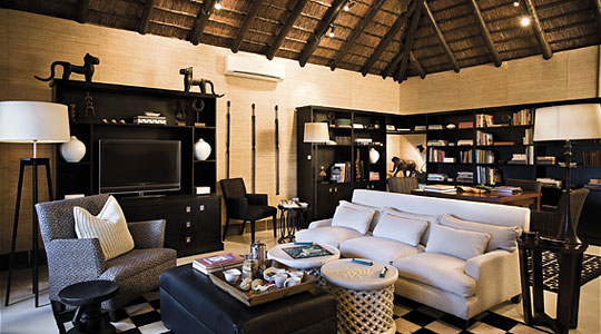 Main Lodge Library Sabi Sand Ivory Lodge Lion Sands Private Game Reserve Sabi Sand Game Reserve South Africa