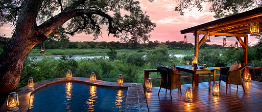 Suites Private Plunge Pool Lion Sands Tinga Lodge Sabi Sand Private Game Reserve Accommodation Booking