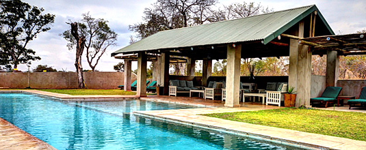 Swimming Pool,Pavilion,Notten's Bush Camp,Nottens Private Game Reserve,Sabi Sands Game Reserve,Safari Lodge bookings