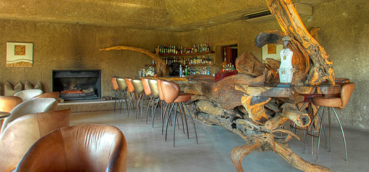 Main Lodge Bar Area Earth Lodge Luxury Accommodation Sabi Sabi Private Game Reserve Sabi Sands Reserve