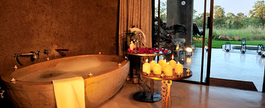 Luxuary Bathroom Suite Earth Lodge Luxury Accommodation Sabi Sabi Private Game Reserv Sabi Sands Reserve