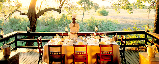 Main Lodge Dining Deck Sabi Sabi Selati Camp Luxury Accommodation Sabi Sabi Private Game Reserve Sabi Sands Reserve Accommodation bookings