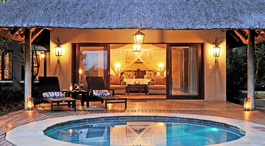 Savanna Suite plunge pool Luxury Accommodation Savanna Private Game Reserve Sabi Sands Reserve Accommodation bookings
