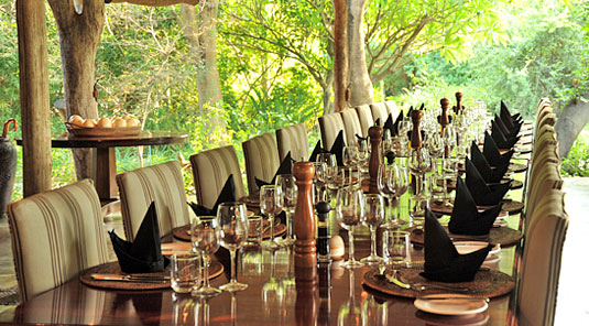 Dining Room Main Lodge Luxury Accommodation Savanna Private Game Reserve Sabi Sands Reserve Accommodation bookings