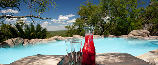 Ulusaba Rock Lodge Swimming pool Rock Lodge Ulusaba Private Game Reserve Sabi Sand Private Game Reserve
